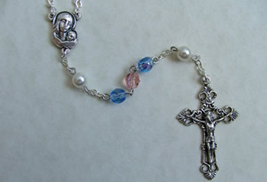 Pro Life Auto Rosary