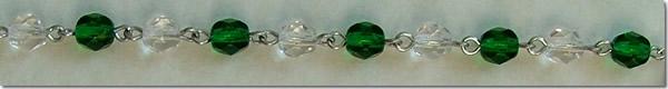 Pro-Life Rosary Beads Decade 5